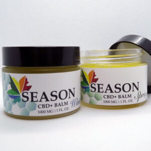 Spring and Winter Seasons cbd balms
