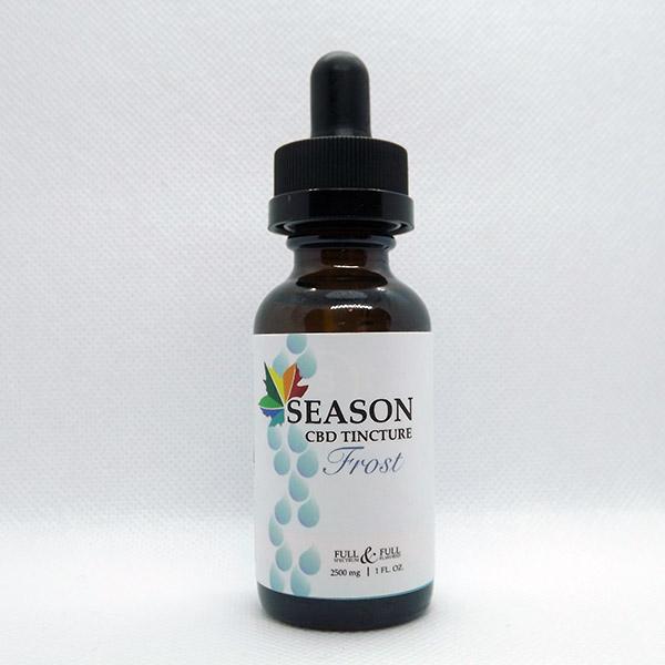 season tincture frost
