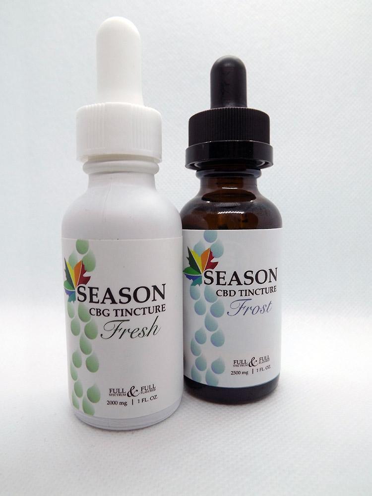 season fresh cbg tincture
